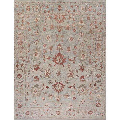 Traditional Hand-woven Persian Sultanabad Rug 12.0 X 15.6