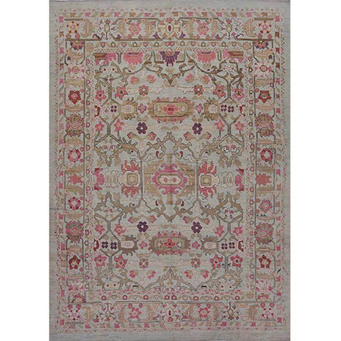 Traditional Hand-woven Persian Sultanabad Rug 11.10 x 16.8