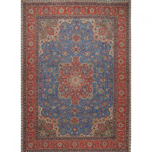 10x13 Old Persian Tabriz Area Rug - 110342