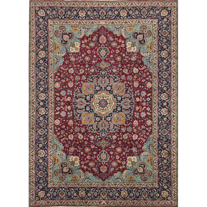 "7'6"" x 10'5"" Old Persian Tabriz Masterpiece Rug - 110350"