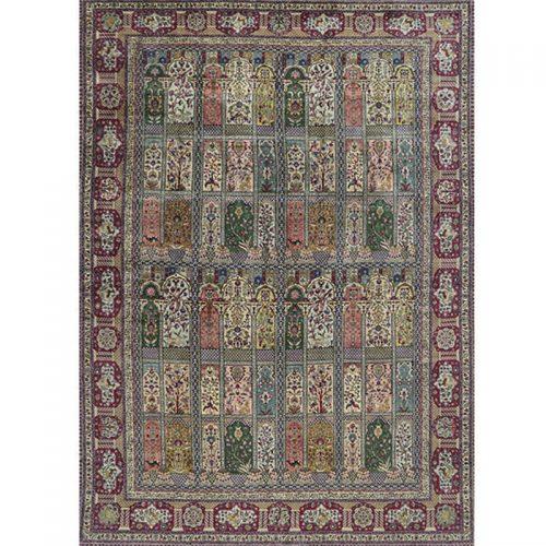 """11'1"""" x 16'0"""" Old Persian Tabriz Rug - 110565"""