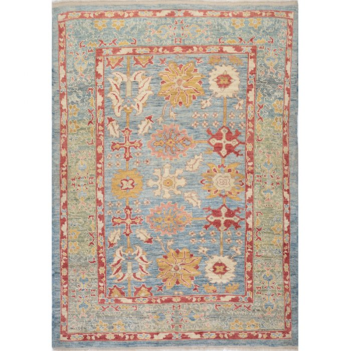 Persian Sultanabad Area Rug 6.5x8.11 - A110258