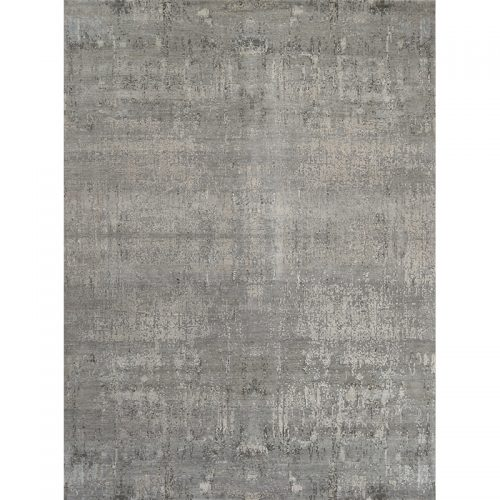 Contemporary/Transitional Handwoven Bamboo Silk Rug 9.0x12.0