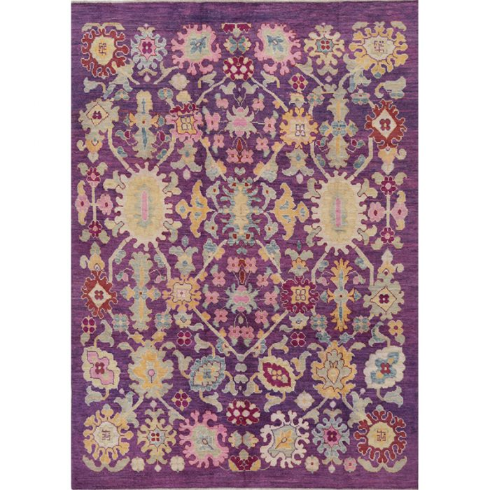 Persian Sultanabad Area Rug - 7.11 X 11.2 Multi