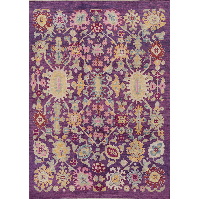 """7'11"""" x 11'2"""" Persian Sultanabad Rug - 109550"""