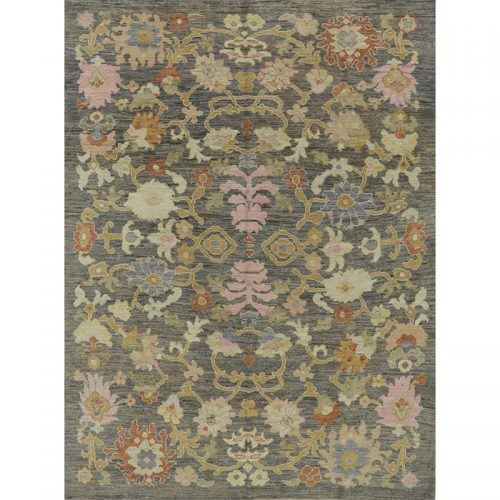 """8'5"""" x 11'5"""" Persian Sultanabad Rug - 109533"""