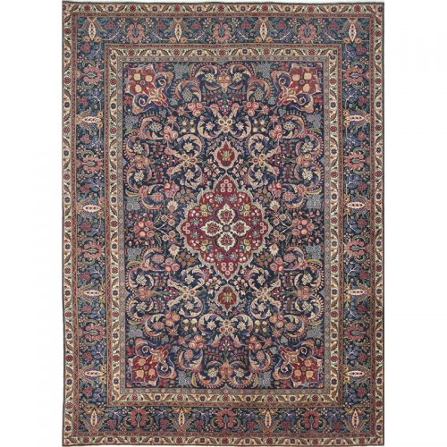 Traditional Hand-woven Persian Tabiz Rug 9.3 x 12.11