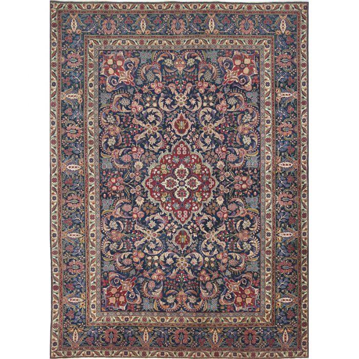 Traditional Hand-woven Persian Tabiz Rug 9.3 x 12.11