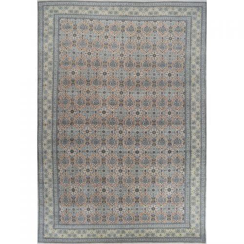 Traditional Hand-woven Persian Kashan Rug 14.0 x 20.4