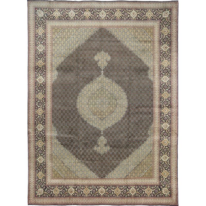 "9'9"" x 13'3"" Old Persian Tabriz Area Rug - 110378"