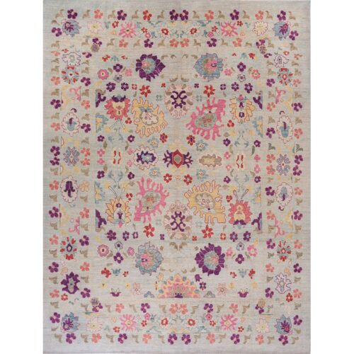 """12'1"""" x 16'0"""" Persian Sultanabad Rug - 109546"""
