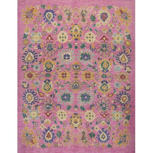 """8'2"""" x 10'7"""" Persian Sultanabad Rug - 109537"""