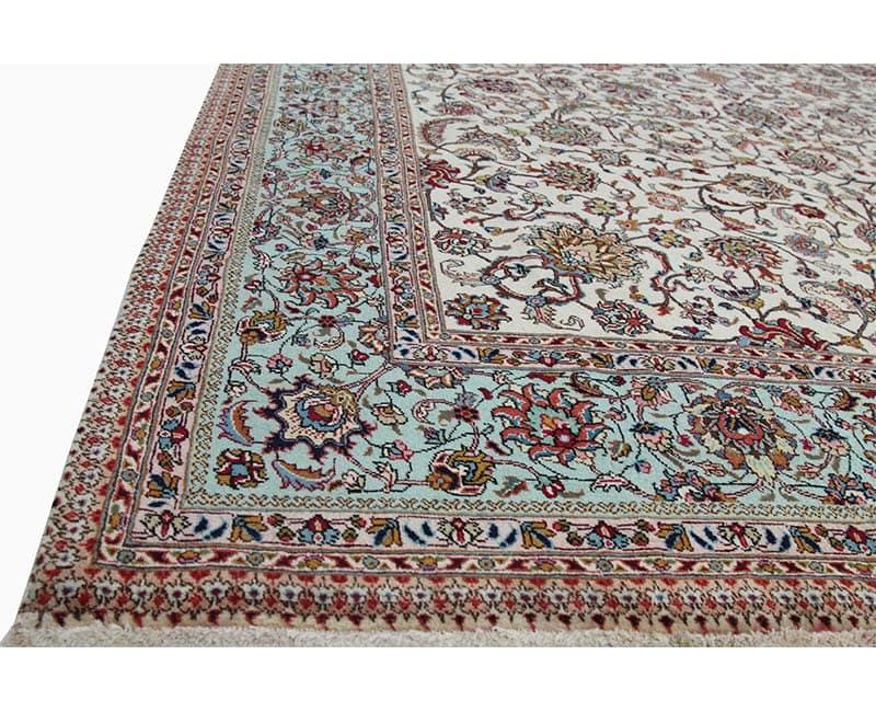 B110329 Traditional Old Handwoven Persian Tabriz Area