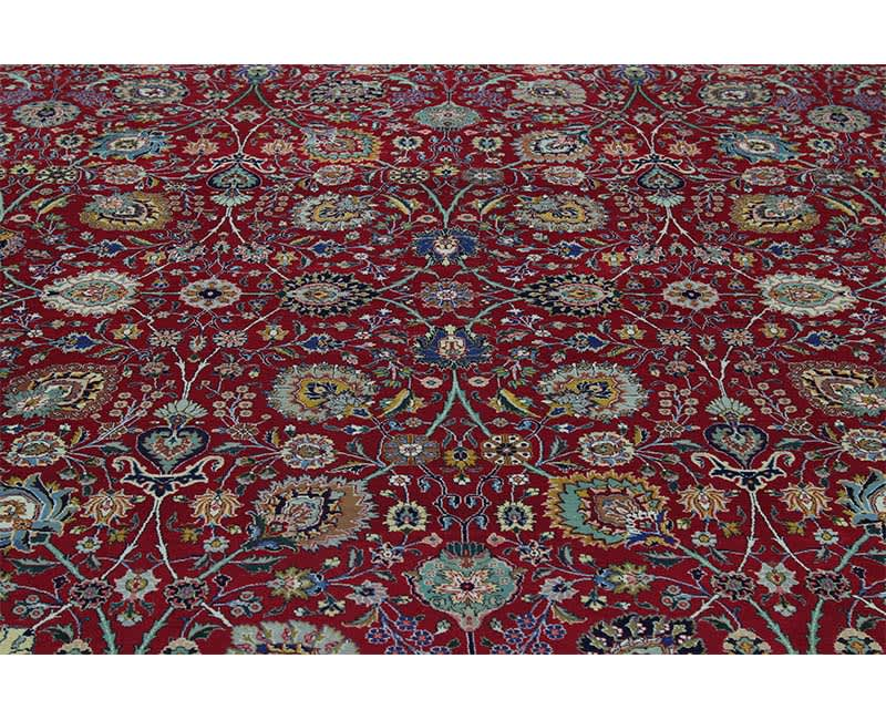 B110349 Traditional Old Handwoven Persian Tabriz Area
