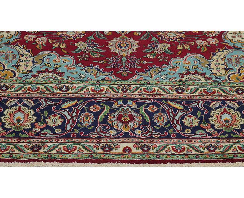 B110350 Old Persian Tabriz Area Rug 7 6x10 5