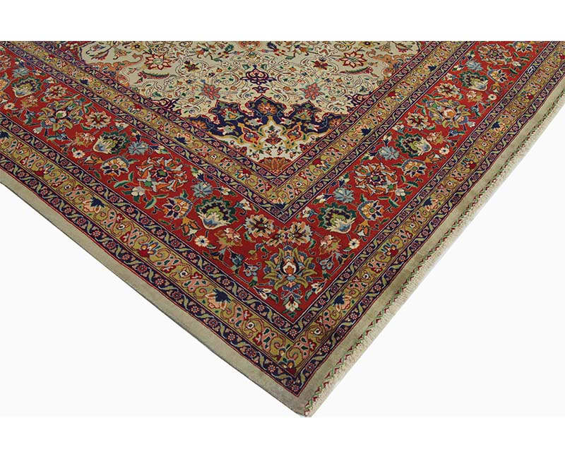 B110303 Traditional Old Handwoven Persian Tabriz Area