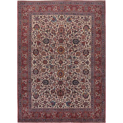 11x15 Old Persian Kashan Area Rug - 110216