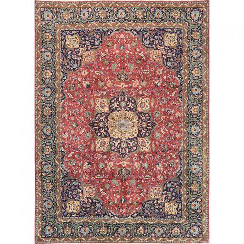 10x14 Old Persian Tabriz Area Rug - 110328
