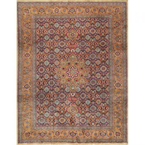 """9'10"""" x 12'10"""" Old Persian Tabriz Rug - 110385"""