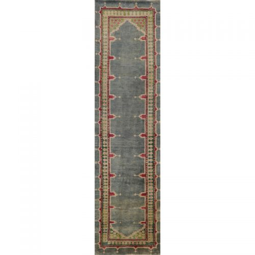 Old Persian Heriz Area Rug 2.3x9.0 - A110589