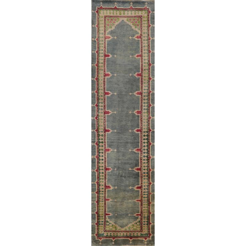 Old Persian Heriz Area Rug 2.3x9.0 - A110589
