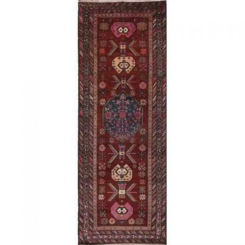 4x10 Old Persian Hamedan Rug - 110569