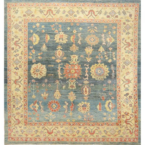 """10'2"""" x 10'6"""" Persian Sultanabad Rug - 109873"""