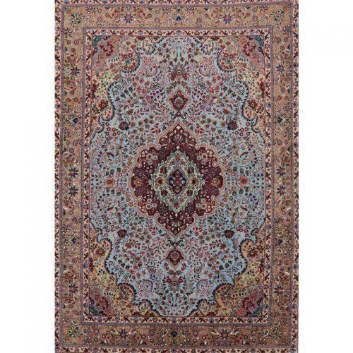 """4'7"""" x 6'9"""" Old Persian Tabriz Rug - 110382"""