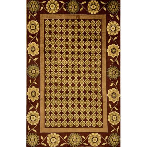 Persian Gabbeh Area Rug 6.7x10.1 - B110603