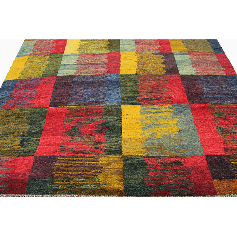 Traditional Handwoven Persian Gabbeh Tribal Rug