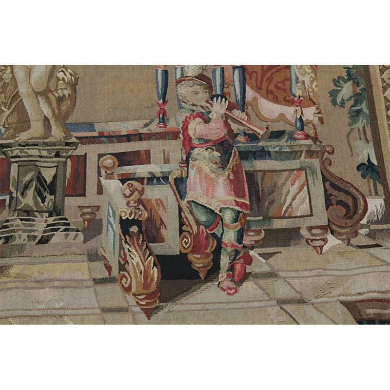 17th Century Wall Tapestry Recreation Of Quot The Offerings Of
