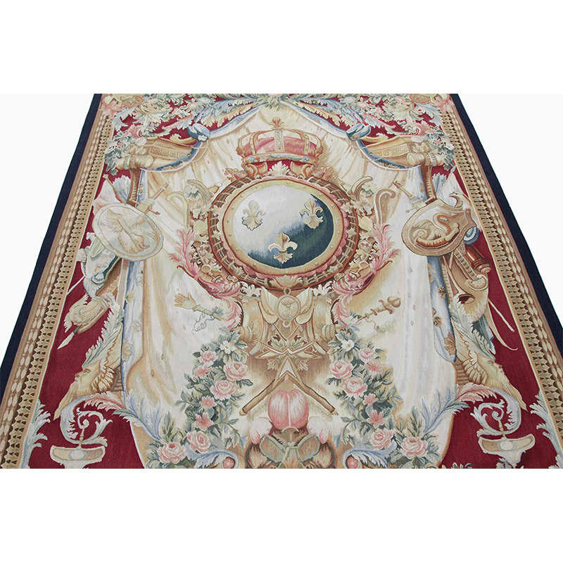 18th Century Tapestry Recreation Quot Arms Of France Quot By