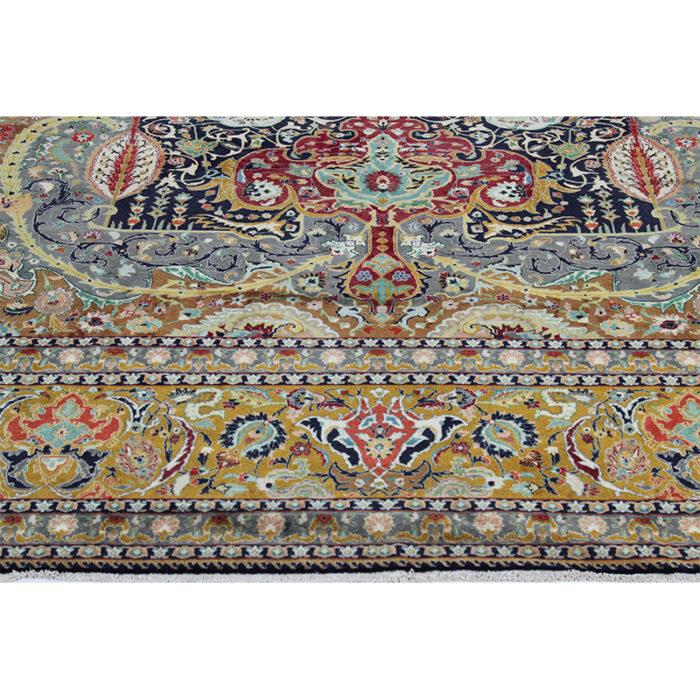 10x13 Old Persian Tabriz Masterpiece Rug - 109857c