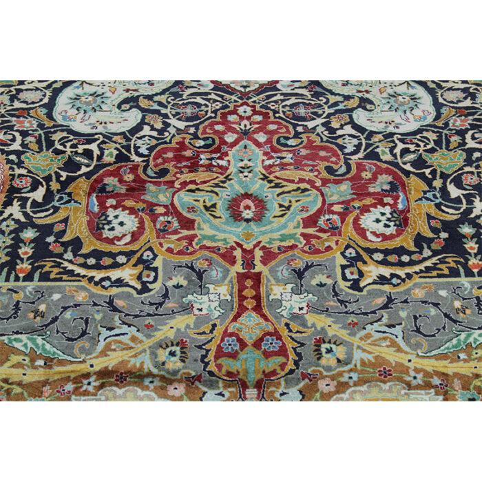 10x13 Old Persian Tabriz Masterpiece Rug - 109857d