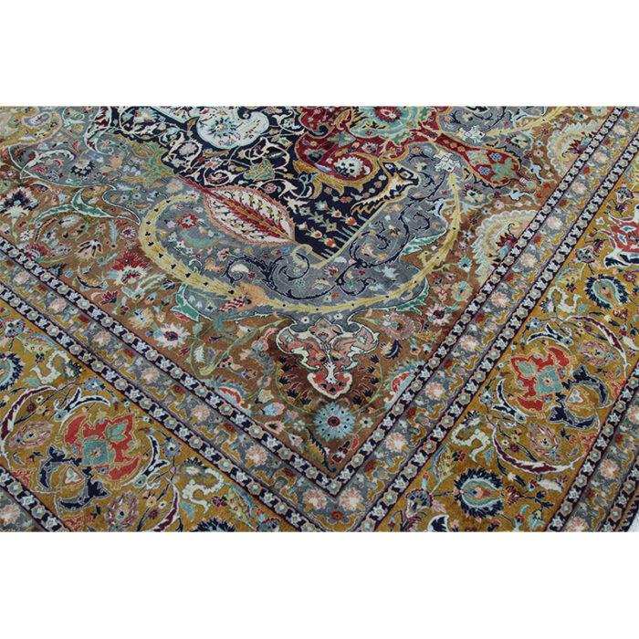 10x13 Old Persian Tabriz Masterpiece Rug - 109857g