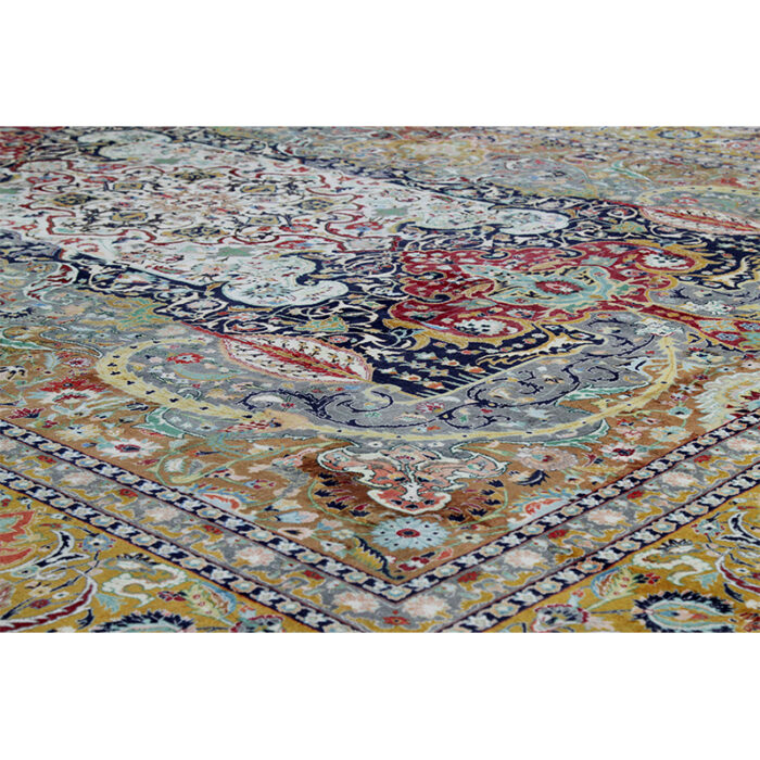 10x13 Old Persian Tabriz Masterpiece Rug - 109857i