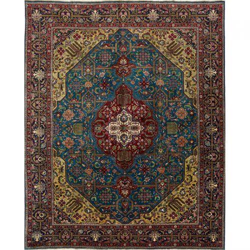 """10'3"""" x 12'8"""" Old Persian Tabriz Rug - 110366"""