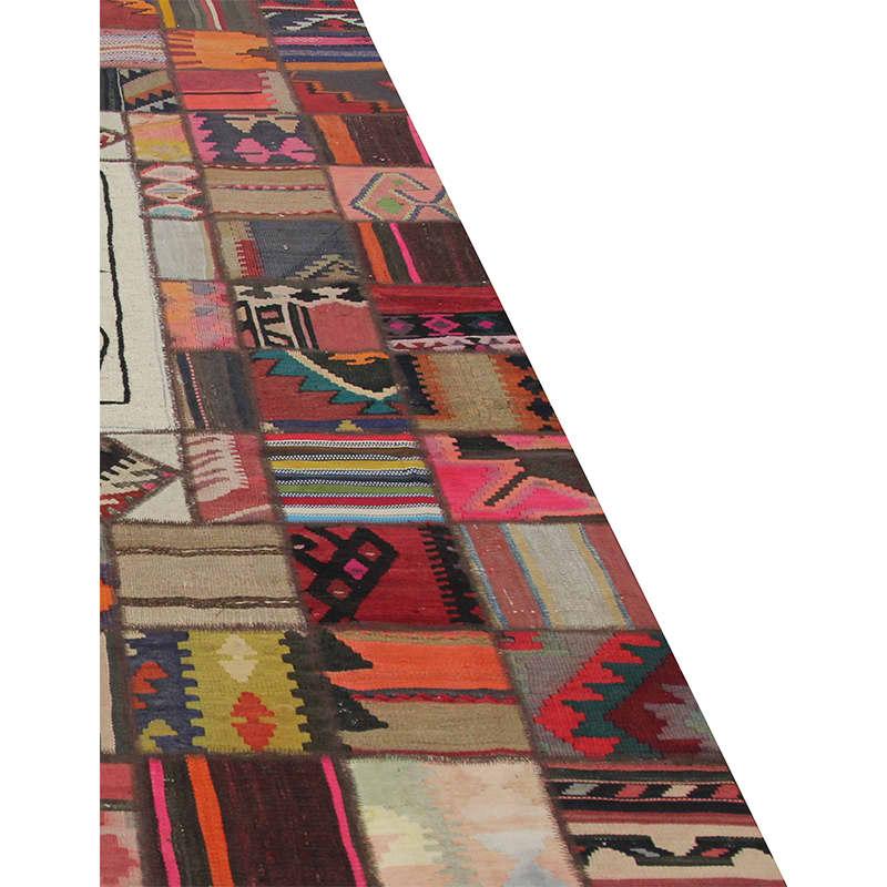 Vintage Persian Patchwork Area Rug 5 7 X 8 5 110091