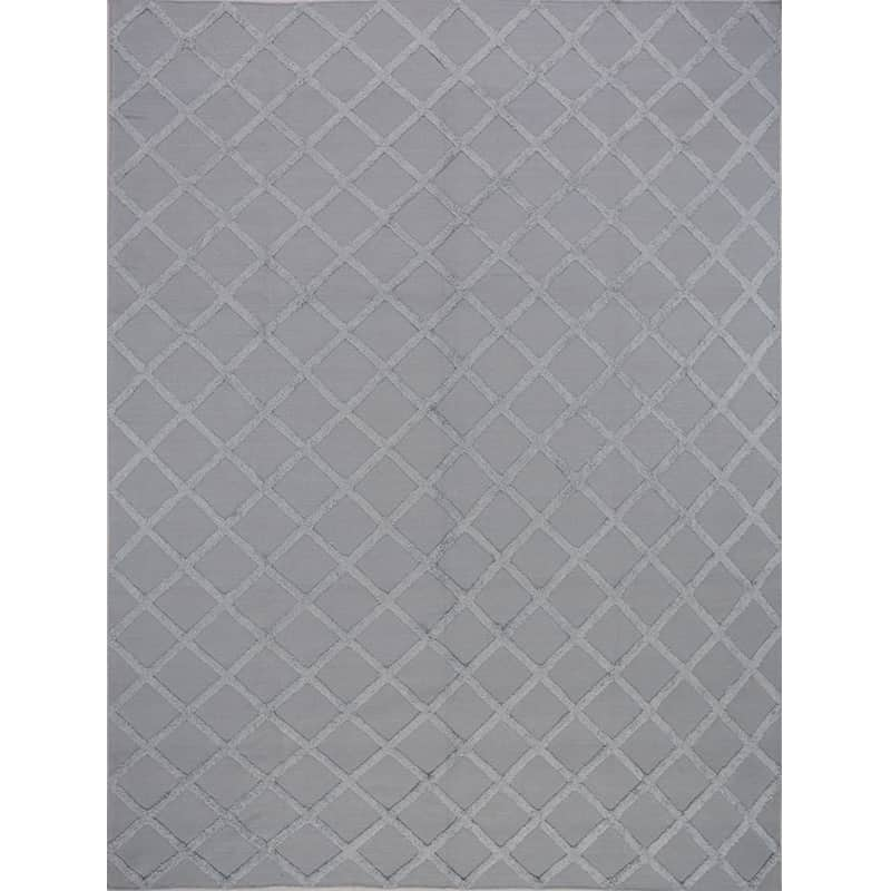 Transitional Flat Weave Area Rug 9 1x12 1 500380 New