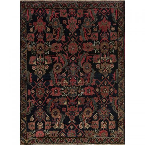 Persian Azarbaijan Area Rug - 3 X 4.1 Navy_Green - 109069