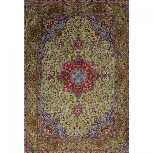 "3'3"" x 4'9"" Old Masterpiece Persian Tabriz Rug - 110381"