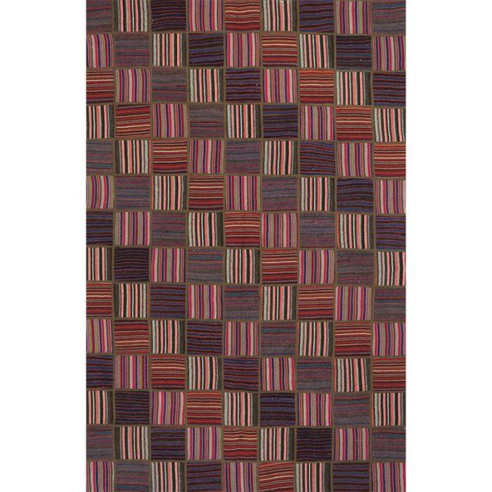 Vintage Patchwork Area Rug 5.10x9.2 - 109398