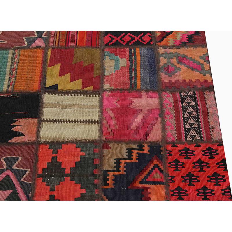 Vintage Persian Patchwork Area Rug 6 7 X 9 10 110067