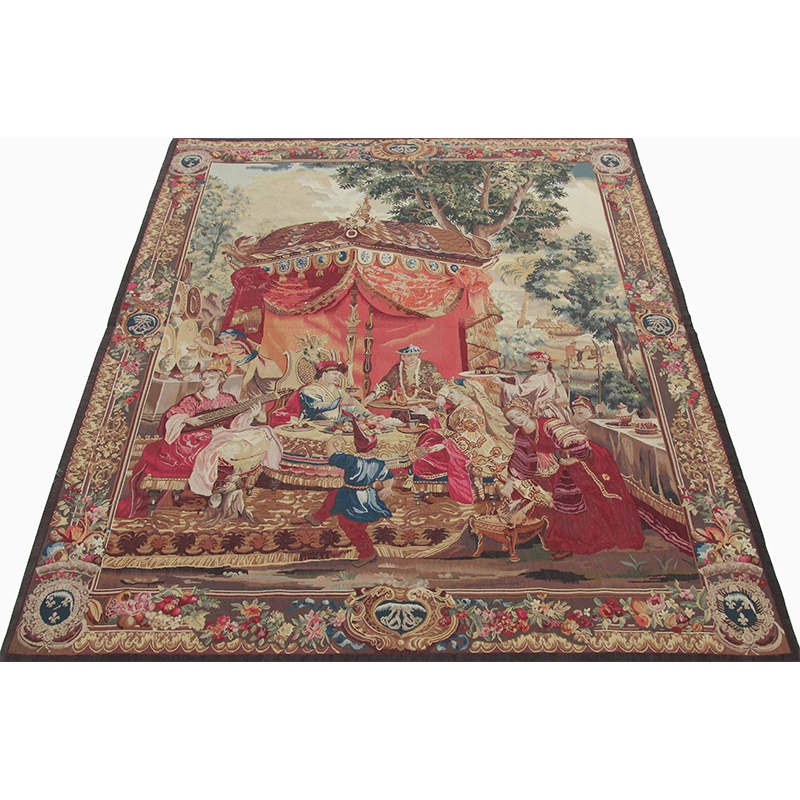 French Tapestry Recreation Quot The Collation Quot From Quot The Story