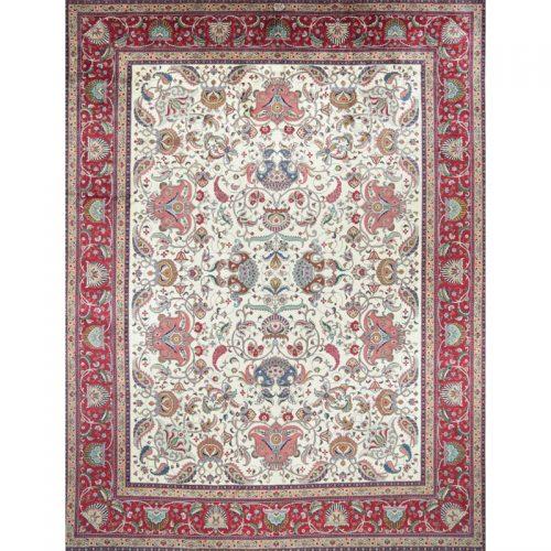"""11'1"""" x 14'6"""" Old Persian Tabriz Rug - 109350"""