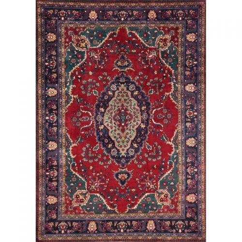 8x12 Old Persian Tabriz Rug - 110523