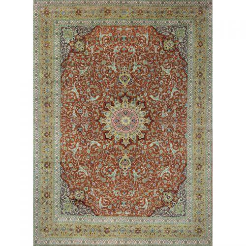 10x14 Old Persian Tabriz Area Rug - 110553