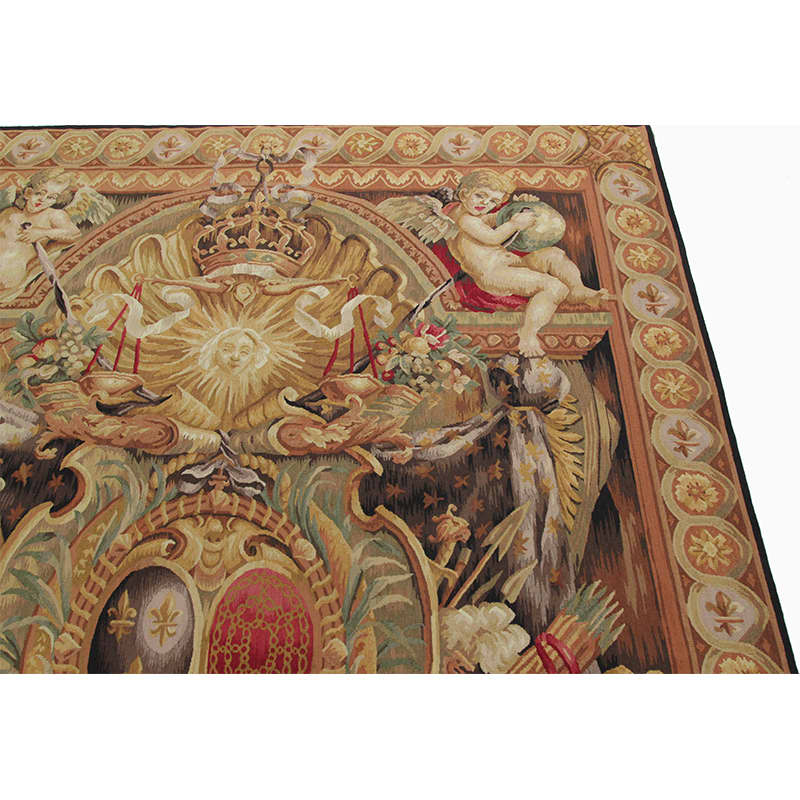 17th Century Tapestry Recreation Quot Elements Of War Quot 6 0x9 0