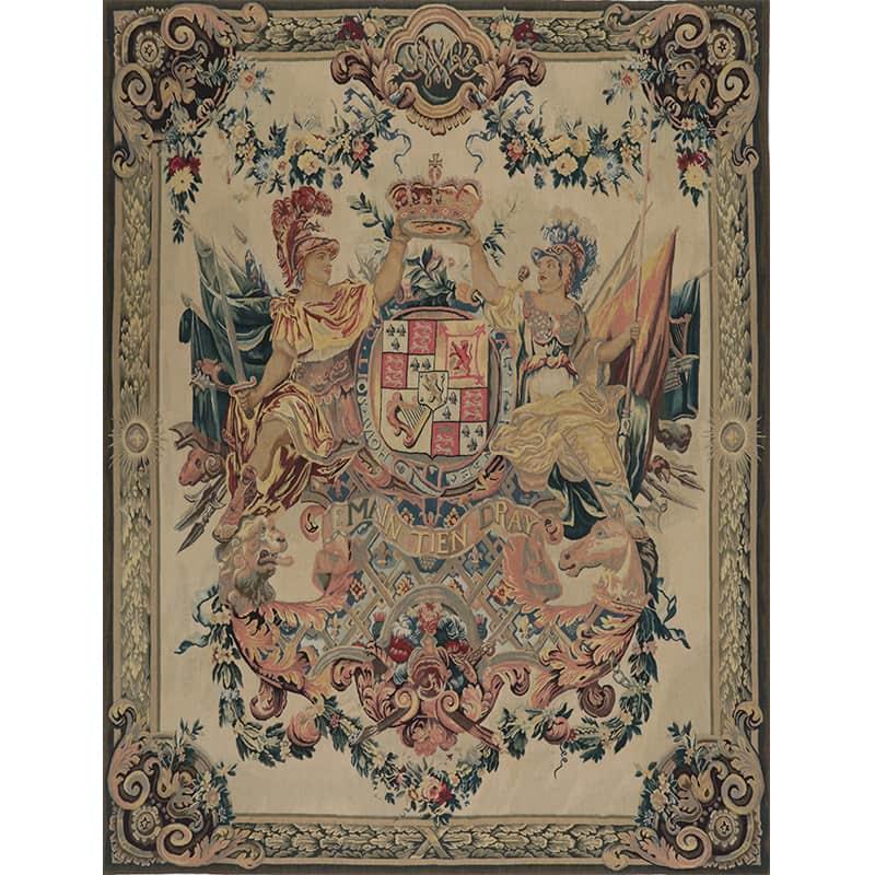 17th Century Tapestry Recreation Quot Armes De Guillaume Et