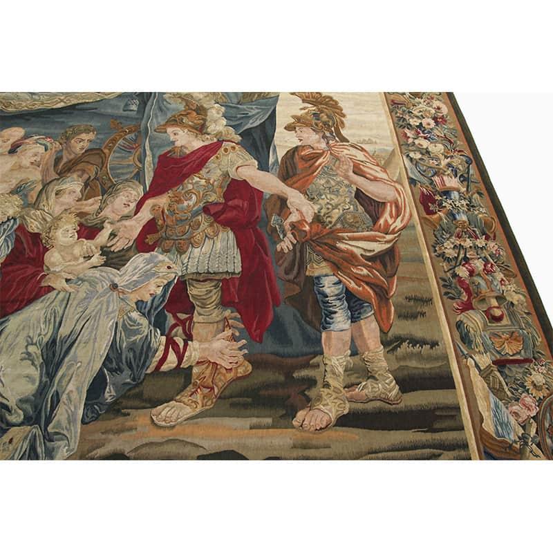 17th Century Tapestry Recreation Quot Alexander In Darius Tent